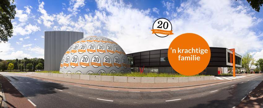 Wiertz Company viert 20-jarig bestaan met netwerkevent