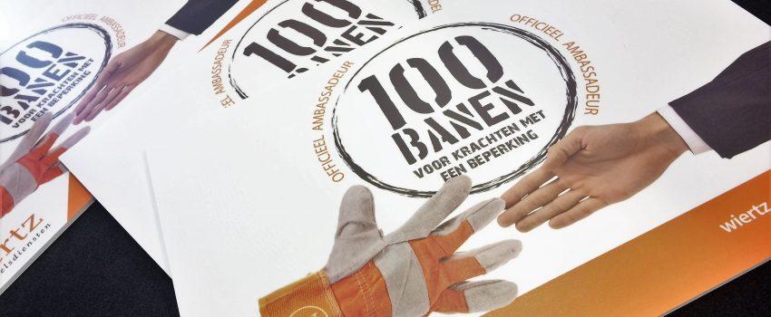 BLOG: 100 mensen met een arbeidsbeperking aan de slag!