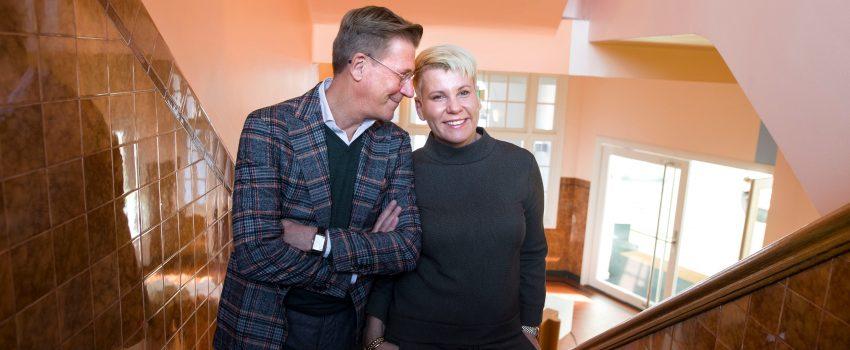 Harm en Dionne Wiertz houden Thijs Wöltgens Lezing 2017
