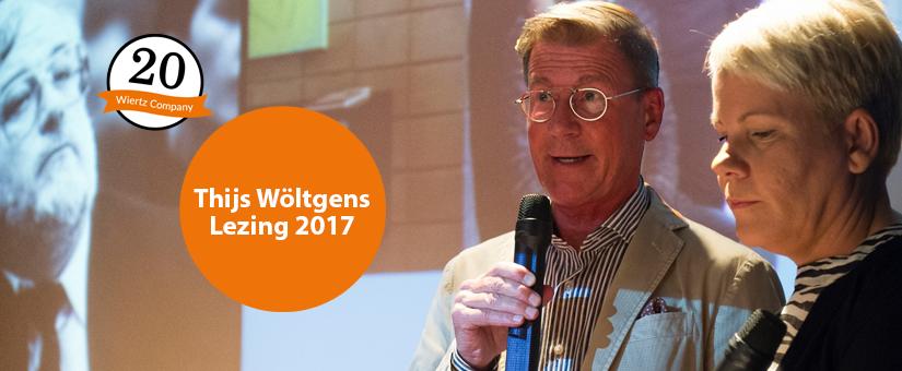 Dionne en Harm Wiertz spreken Thijs Wöltgens Lezing 2017 uit