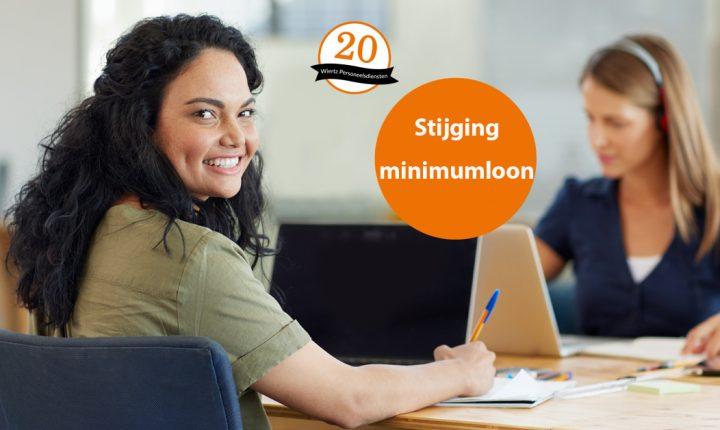 Minimum(jeugd)loon stijgt per 1 juli 2017