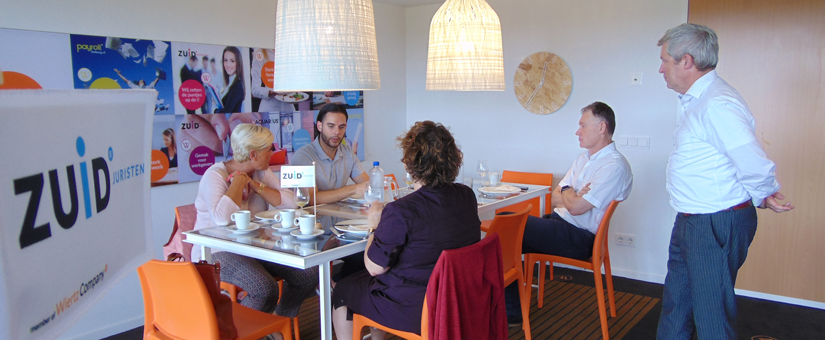Succesvolle lunchbijeenkomst over de ondernemingsraad