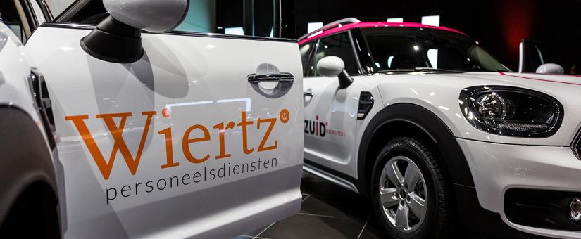 Wiertz Company neemt 18 nieuwe MINI's in gebruik