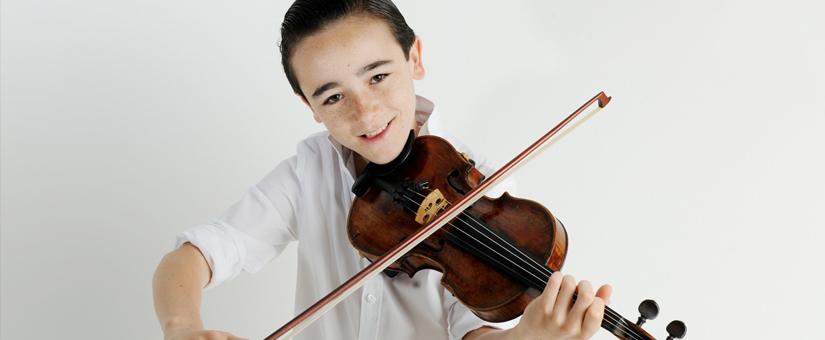 Enzo Kok: 'Ik kan mij geen leven meer voorstellen zonder mijn viool'