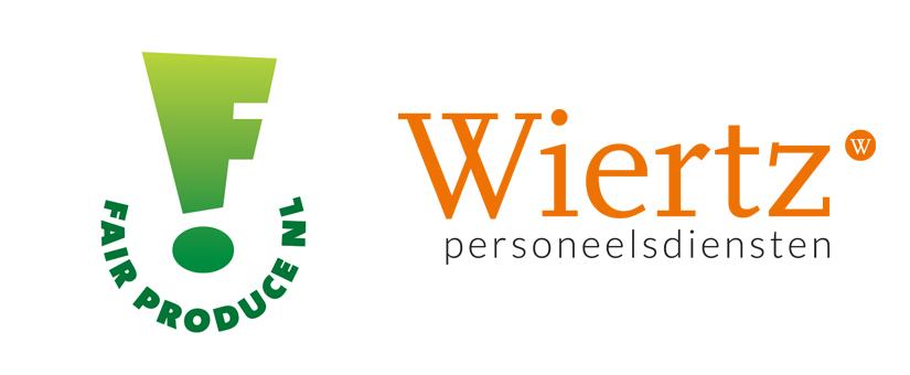 Certificaat Fair Produce van Wiertz Personeelsdiensten verlengd